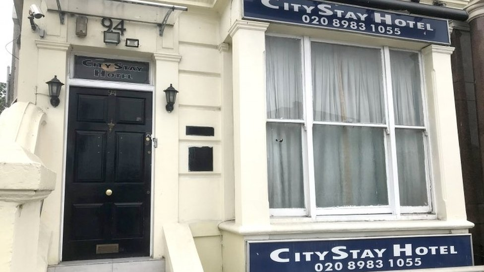The CityStay hotel in Bow, east London, where Russian Nationals Alexander Petrov and Ruslan Boshirov stayed before they travelled to Salisbury,