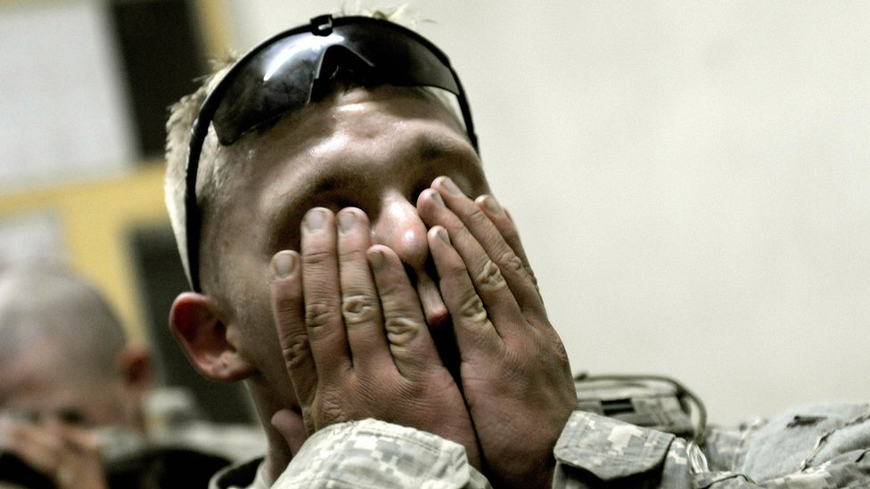 Soldado estadounidense en Afganistán