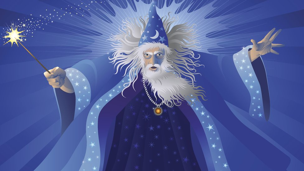 Merlin - or Myrddin - has long been associated with Carmarthen