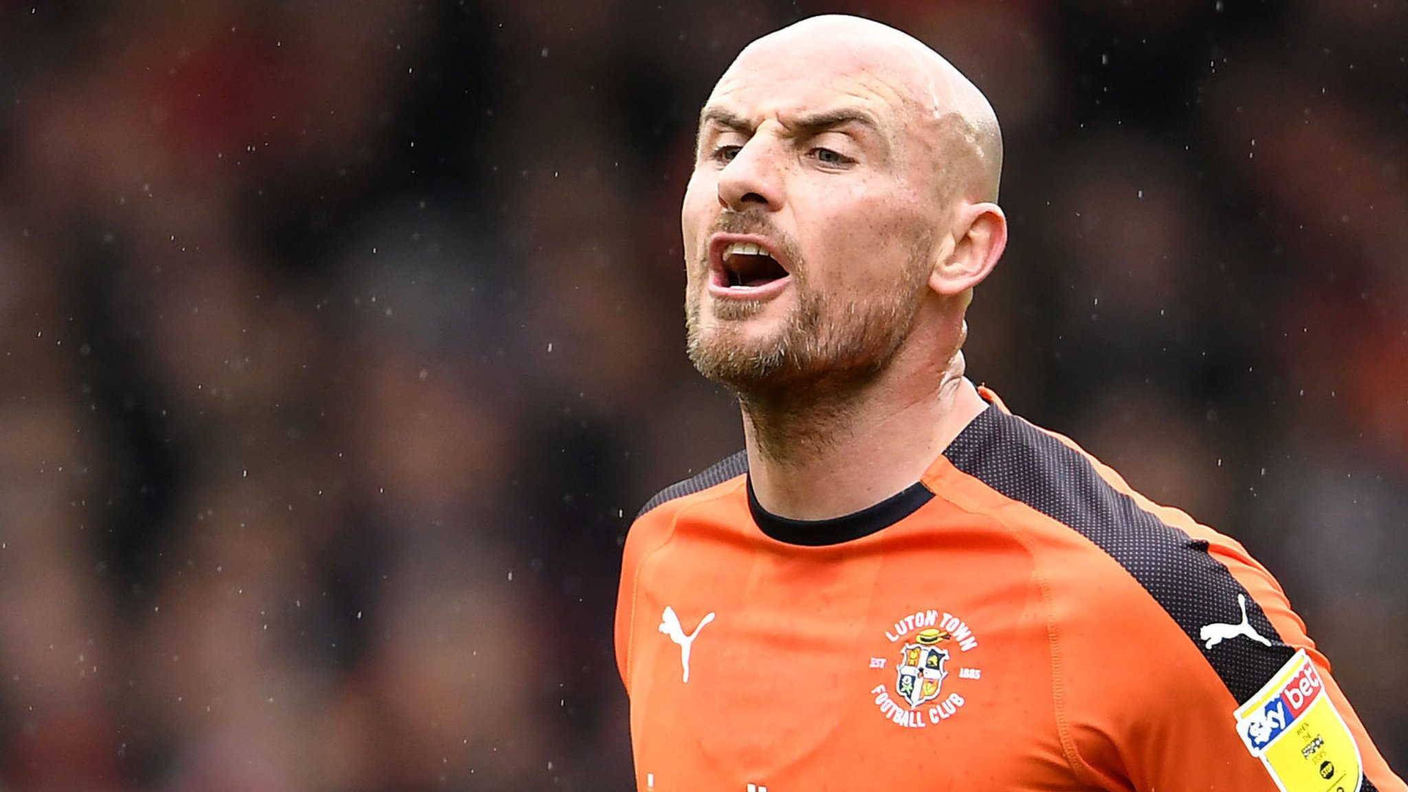 Luton Town: Alan McCormack among five released by League One champions