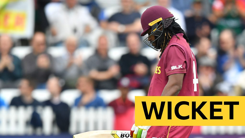 Cricket World Cup: West Indies' Chris Gayle falls for 13-ball duck