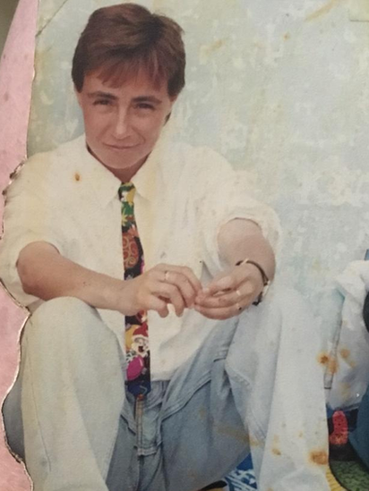 Marta Álvarez en la cárcel de Pereira en 1994