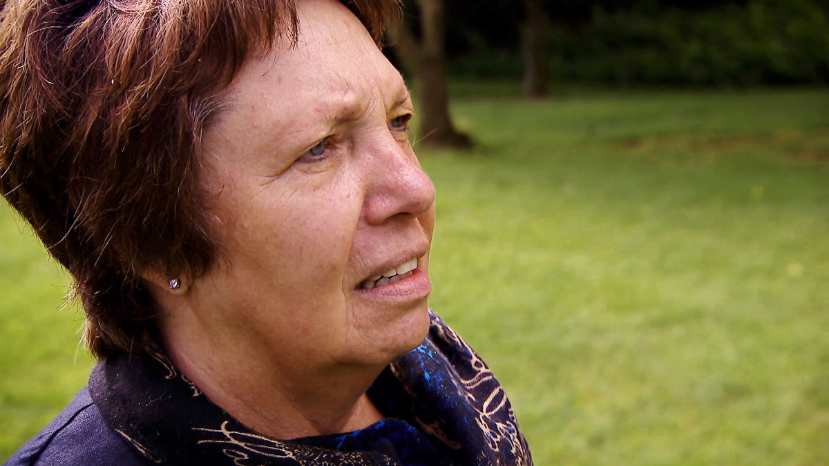 Ria Matthes, una trabajadora social en Hamburgo, conoció a Joyce y la vio con un niño que pudo haber sido Adam.