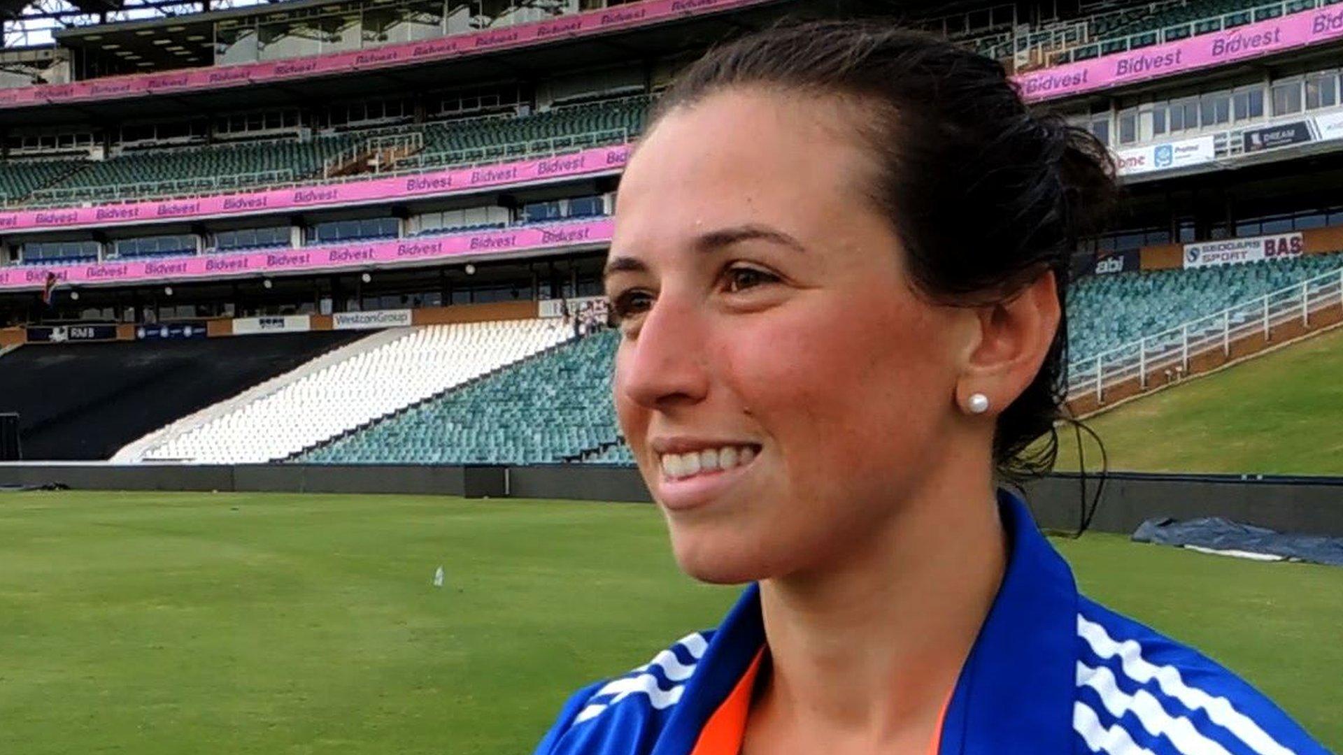 England all-rounder Georgia Elwiss