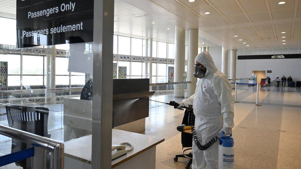 Dezinfekcija aerodroma