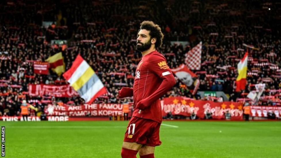 Mchezaji wa kimataifa wa Misri Mohamed Salah