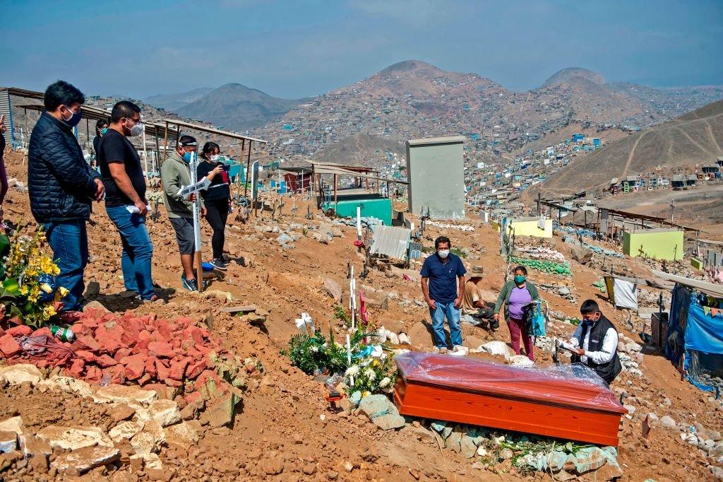 Enterro em Lima