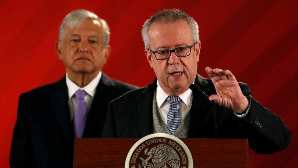 Carlos Urzúa y López Obrador