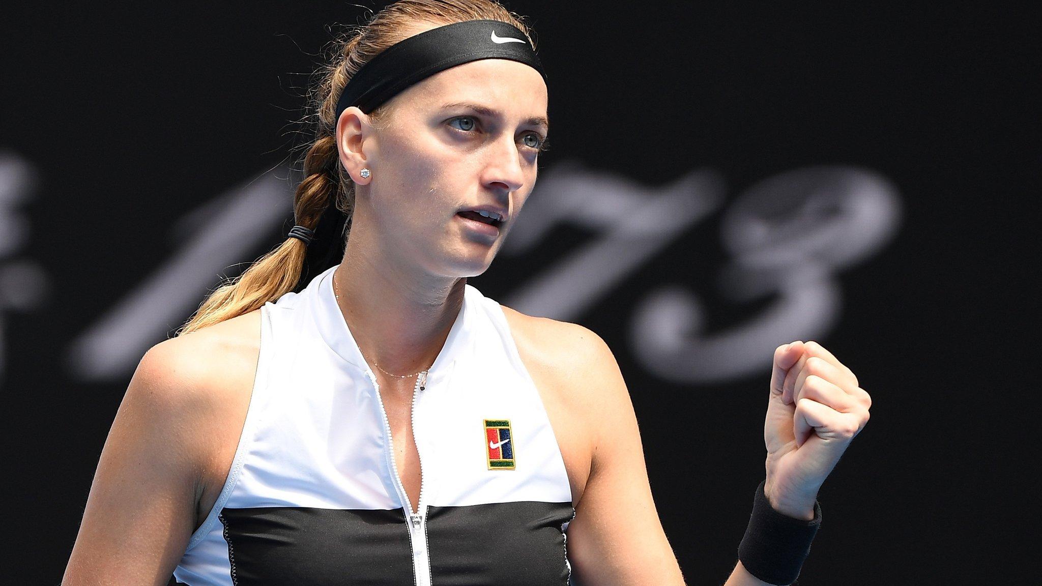 Dubai Tennis Championships: Petra Kvitova through to last 16