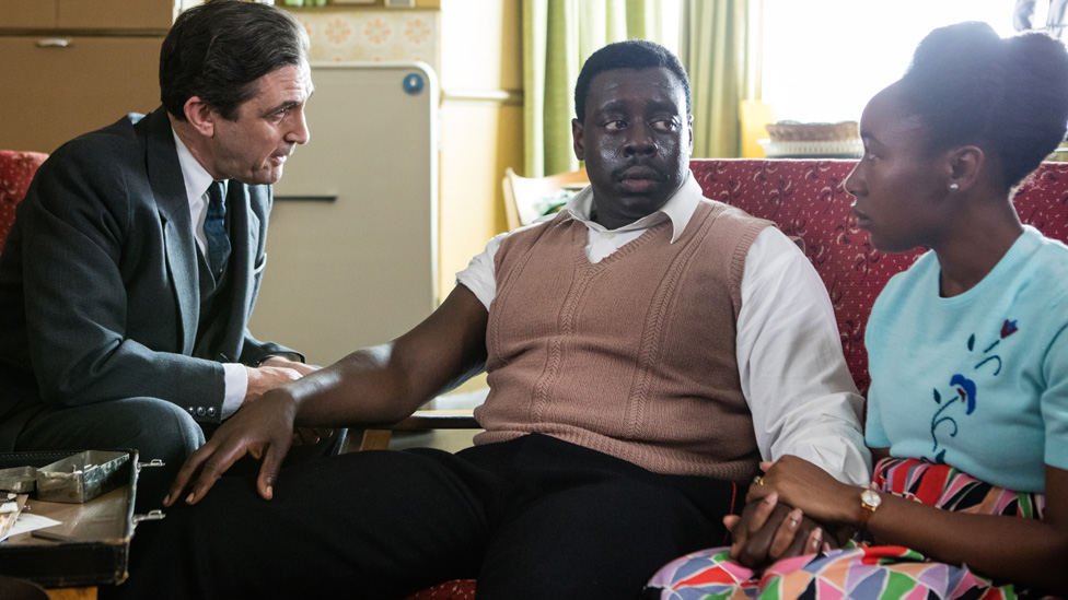 Mr Aidoo is diagnosed with sickle cell on Call The Midwife