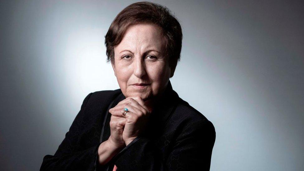 Shirin Ebadi, ganadora del Nobel de la Paz en 2003. NO USAR / BBC