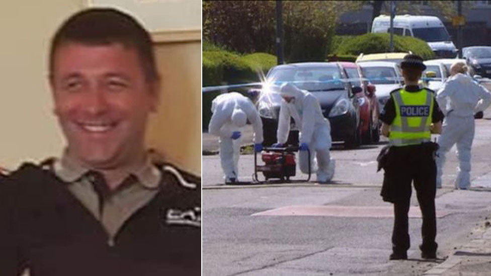 Four arrests over death of man stabbed in car in Glasgow