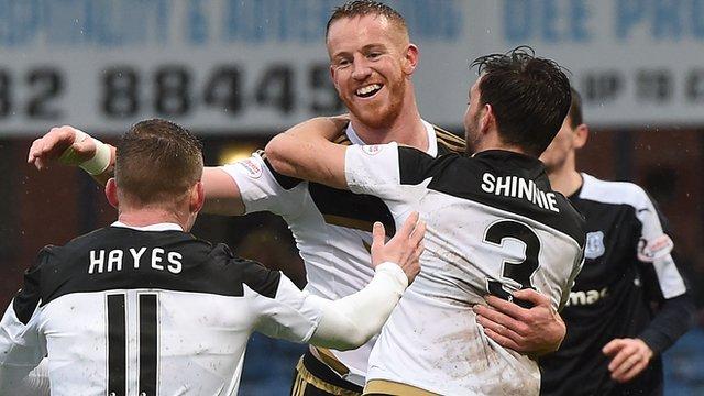 Highlights - Dundee 0-2 Aberdeen