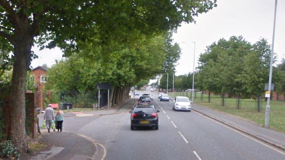 Merseyside Police car on 999 call crashes into wall