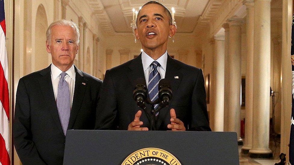 Biden ve Obama