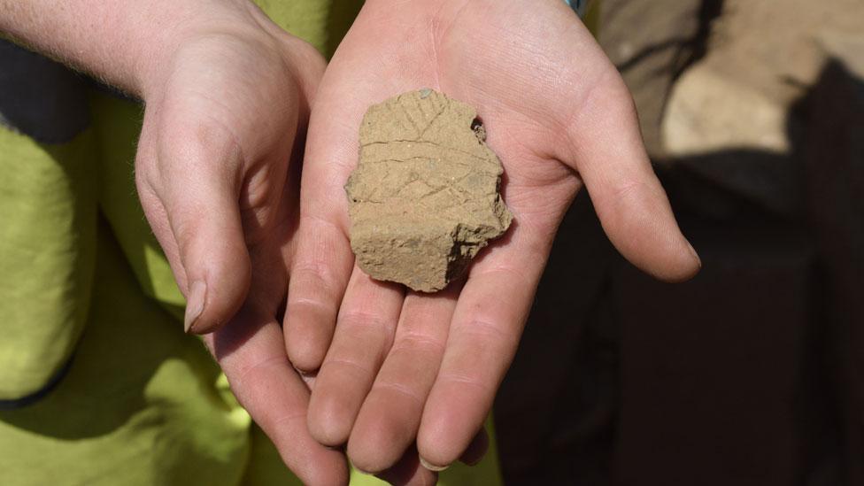 Fragment of Beaker pot
