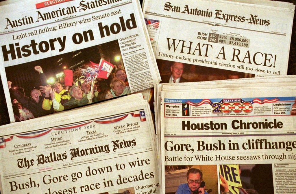 Diarios el día después de la elección