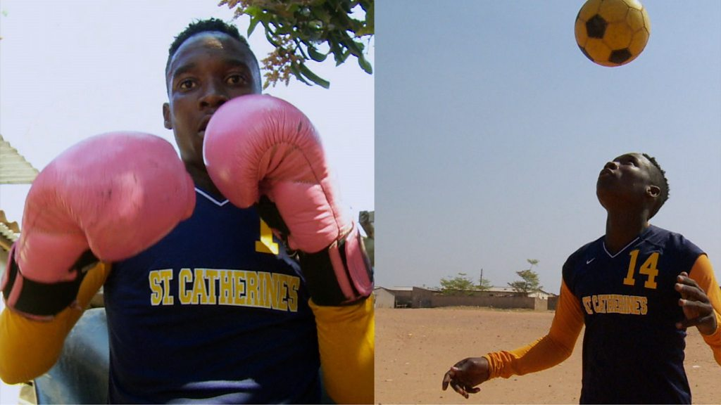Zambia's Barbra Banda: The striker who is also a boxer