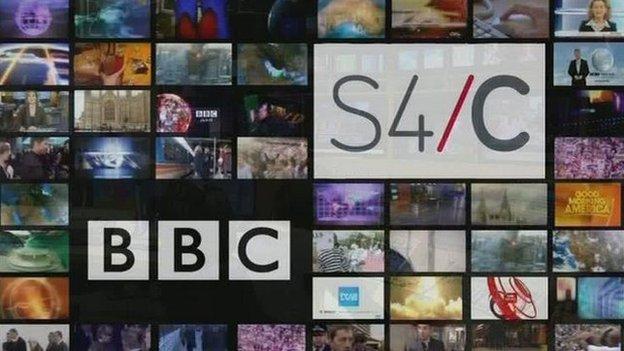 Beth fydd effaith newidiadau i'r BBC ar S4C?