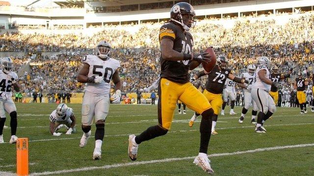 Pittsburgh wide receiver Martavis Bryant
