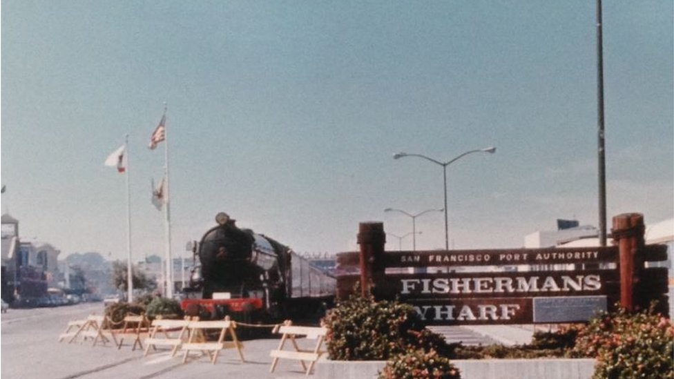 Flying Scotsman in the US