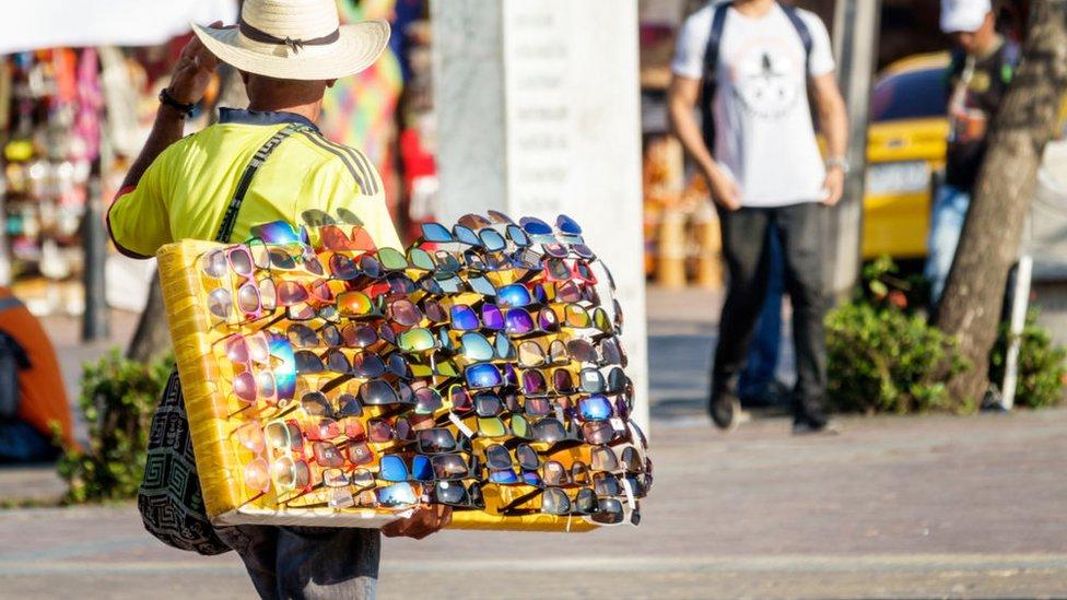 Vendedor en Colombia