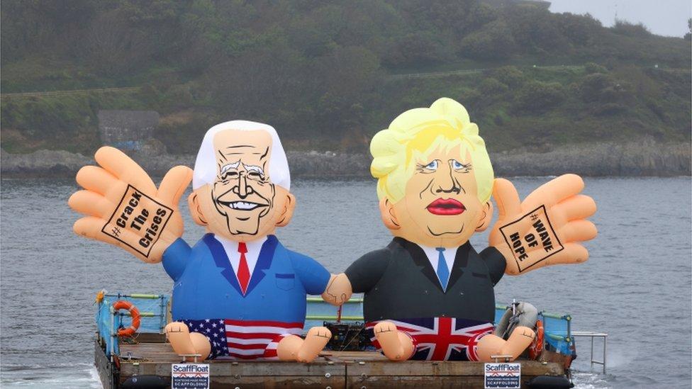 G7康沃爾峰會