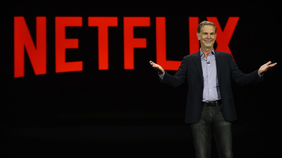 Netflix chief executive Reed Hastings