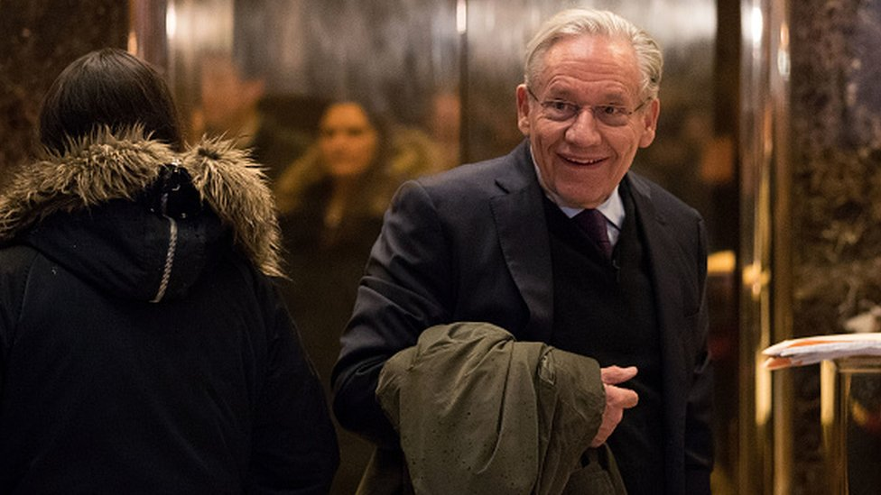 Bob Woodward, New York'taki Trump Towers'ta da Trump ile defalarca görüştü.