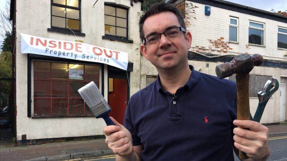 BBC reporter Phil Norton