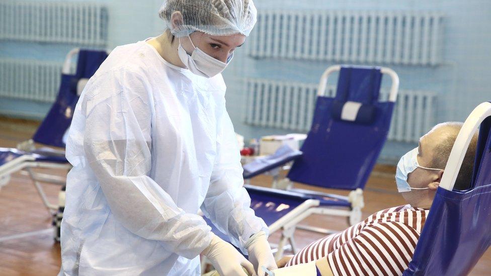 U Moskvi trenutno postoje dve klinike gde je moguće donirati plazmu