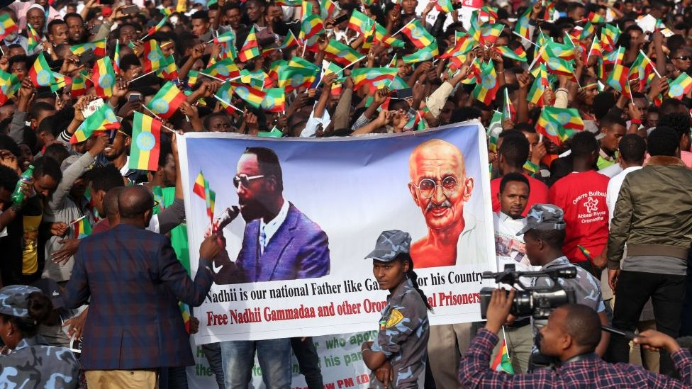 Abiy Ahmed banner