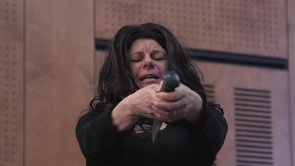 Petra Massey as Juliet