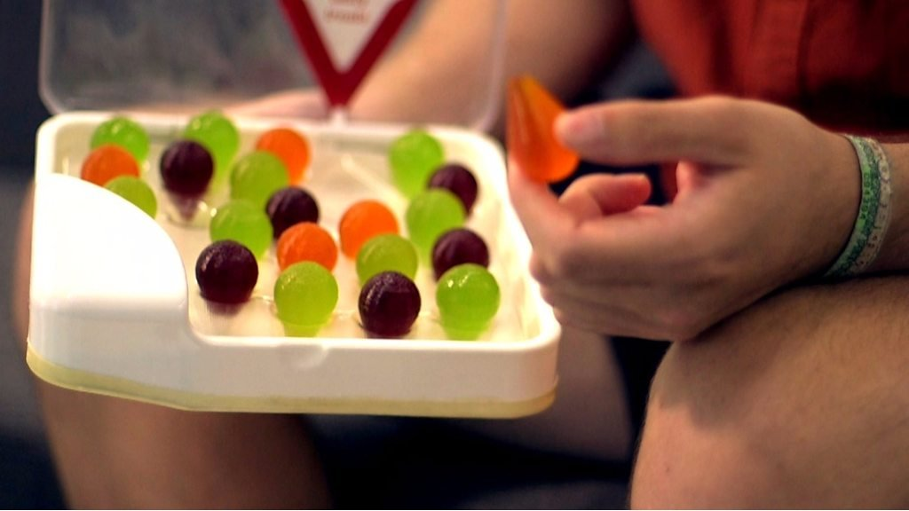 Jelly treats for people with dementia