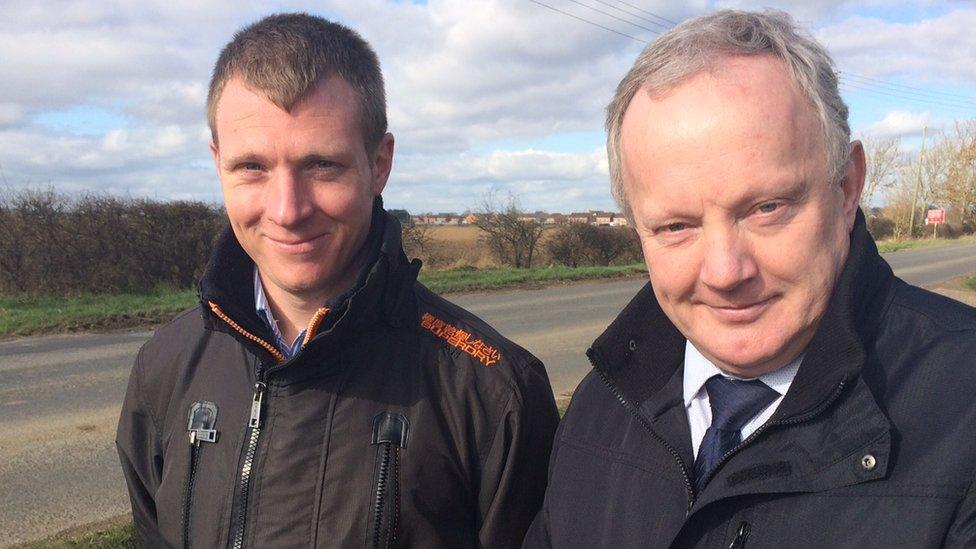Craig Nairn and Stuart Tweedale