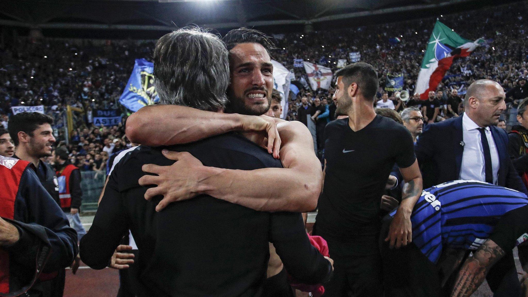 Inter claim final Champions League spot at Lazio's expense