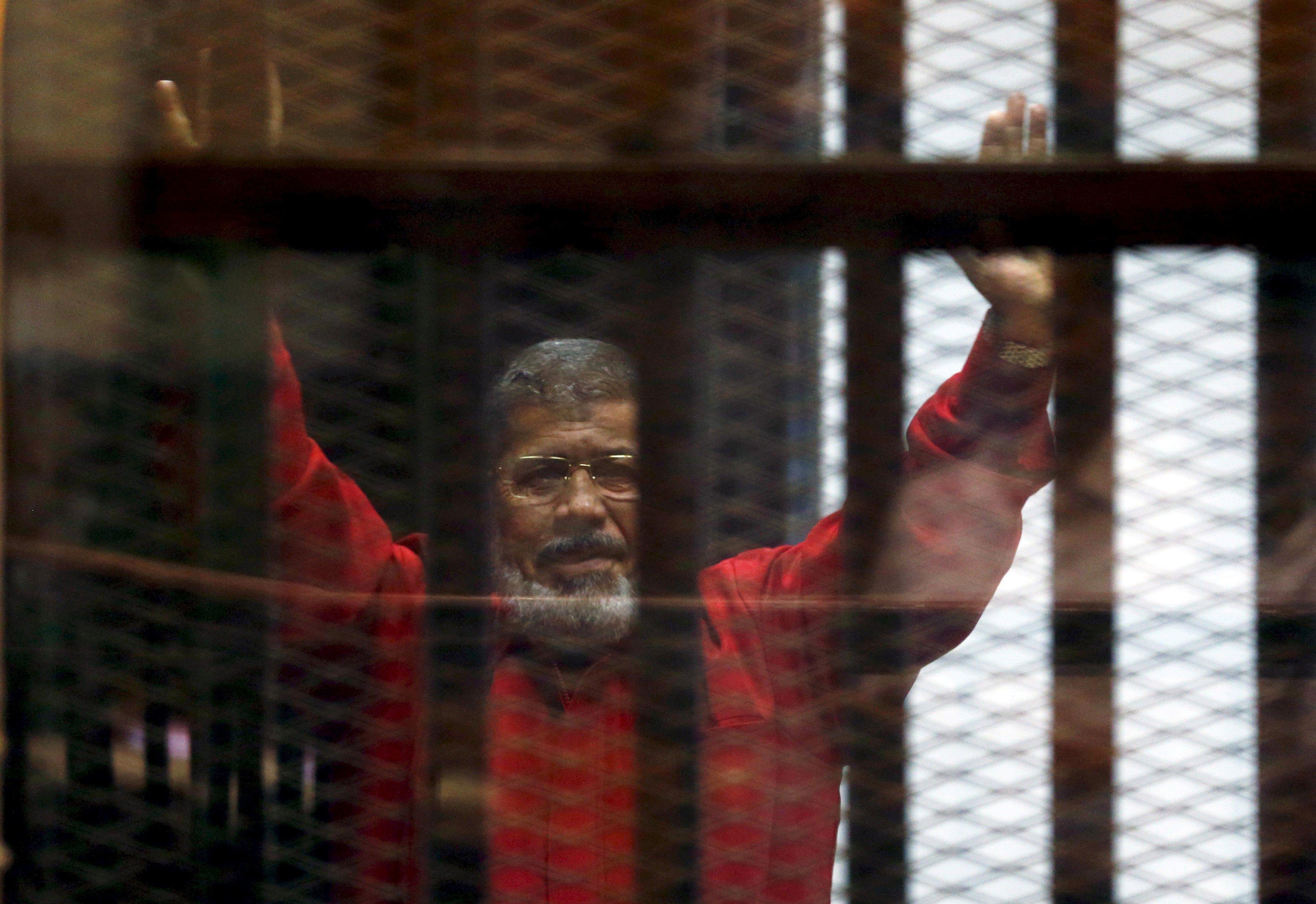 الرئيس المعزول الراحل محمد مرسي