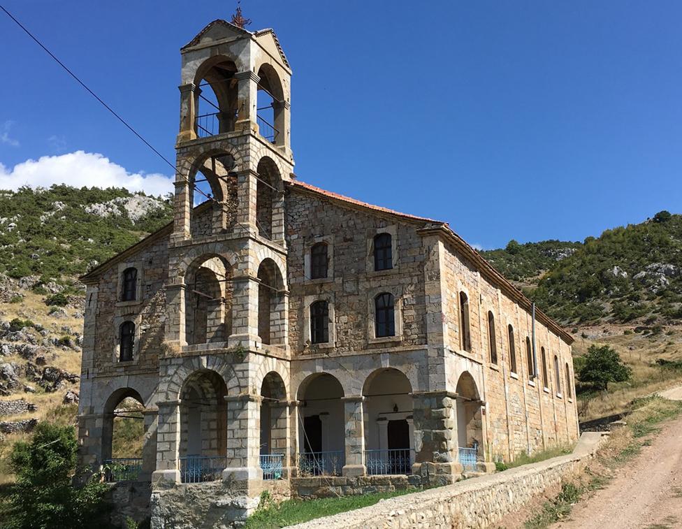 The church of St George in Krystallopigi / Smrdes