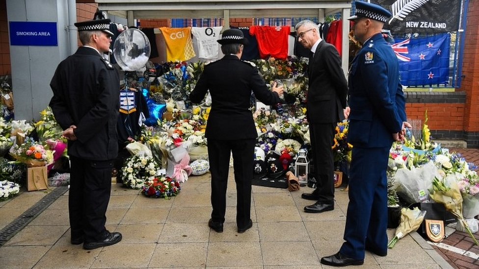 Tributes at Croydon Custody Centre