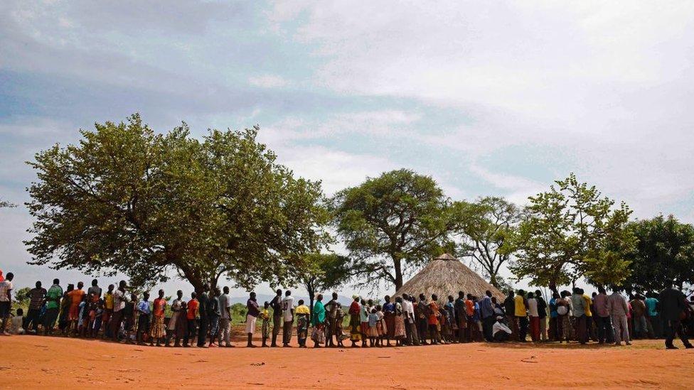 Pengungsi di Uganda Utara