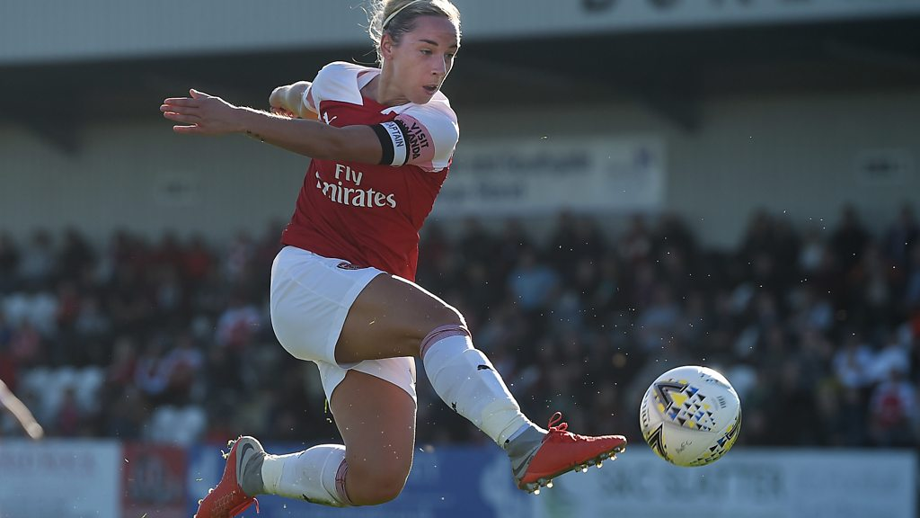 WSL highlights: Arsenal 6-0 Reading - Vivianne Miedema scores a hat-trick