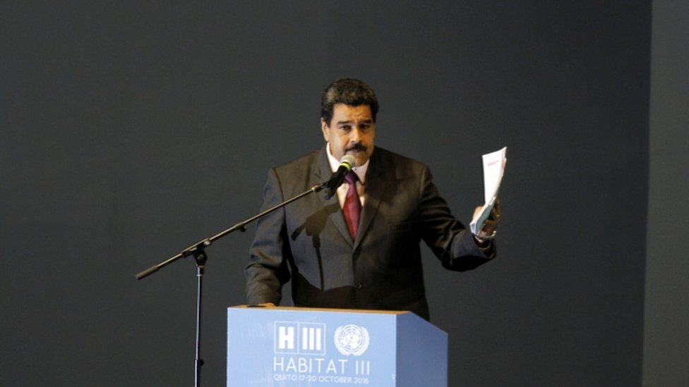 Nicolas Maduro, 17 October