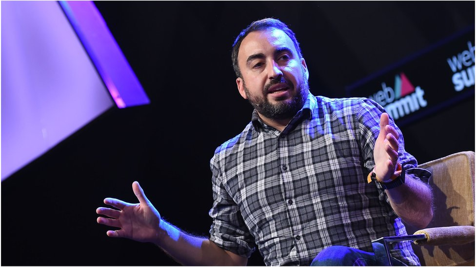 Alex Stamos was formerly a security officer at Yahoo