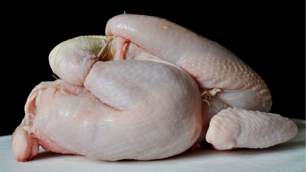 Chicken food poisoning levels falling
