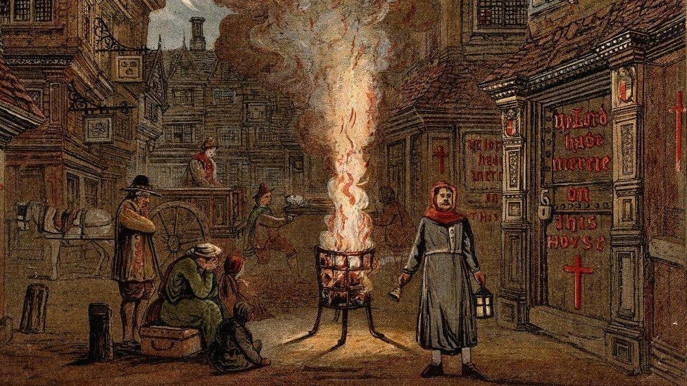 Карантин и развал экономики: Великая чума в Лондоне XVII века