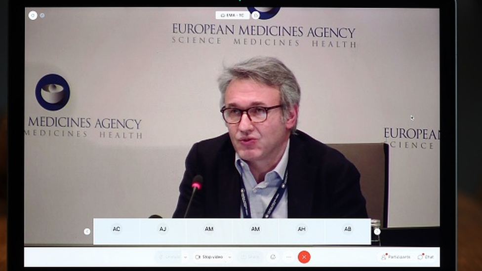 Marco Cavaleri, presidente do Comitê de Avaliação de Vacinas da EMA