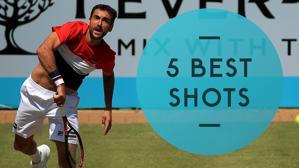 Queen's 2018: Marin Cilic beats Sam Querrey - best shots