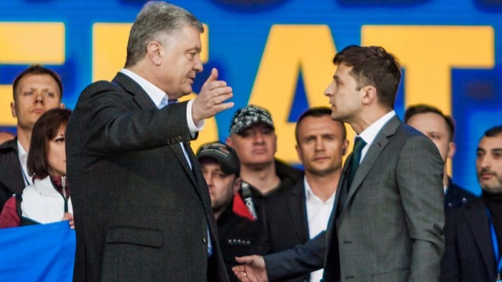 Ukraine: Candidates clash ahead of presidential poll