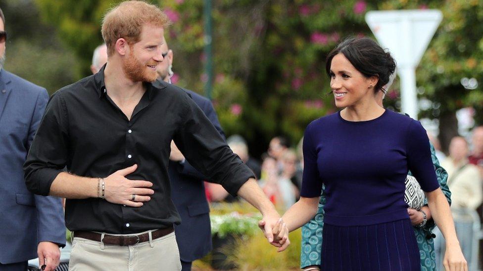 الأمير هاري وقرينته ميغان