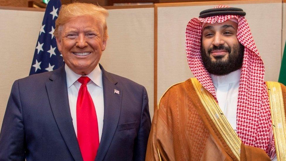 डोनल्ड ट्रंप और सऊदी अरब के क्राउन प्रिंस मोहम्मद बिन सलमान